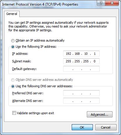 Cara Mengatur IP Address