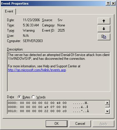 Contoh Serangan DDoS