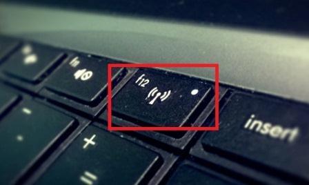 tombol Wifi laptop